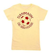 soccerballDK1 Girl's Tee