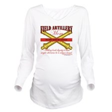 2-feild artillery mo Long Sleeve Maternity T-Shirt