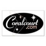 Coralcourt.com Rectangle Sticker