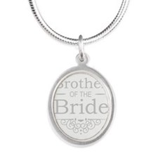 Brother of the Bride silver Necklaces