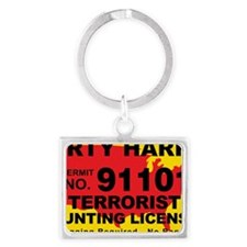 TH-License-DIRTY-HARRY Landscape Keychain