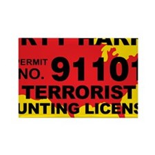 TH-License-DIRTY-HARRY Rectangle Magnet