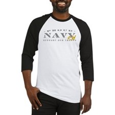 Proud Navy Kid (gold) Baseball Jersey