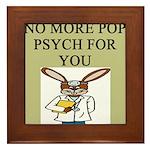 pop psych Framed Tile