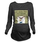 pop psych Long Sleeve Maternity T-Shirt