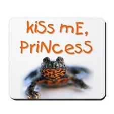 Kiss Me, Princess (A) Mousepad