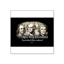 RWExtremists founded nation Oval Sticker