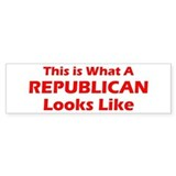 Republican Bumper Bumper Sticker