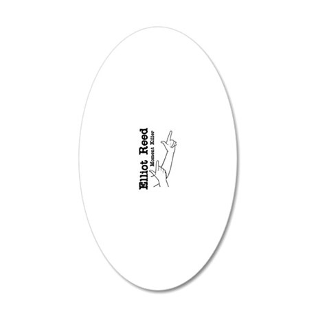 moment-killer-sw 20x12 Oval Wall Decal