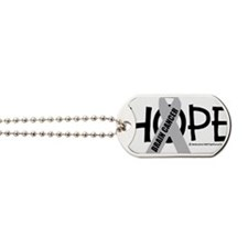 Brain-Cancer-Hope Dog Tags