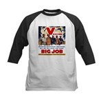 Same Big Job Kids Baseball Jersey