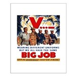 Same Big Job Small Poster
