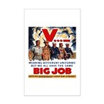 Same Big Job Mini Poster Print