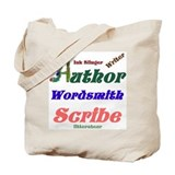 Writer Author Tote Bag