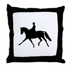 Extension Silhouette Throw Pillow