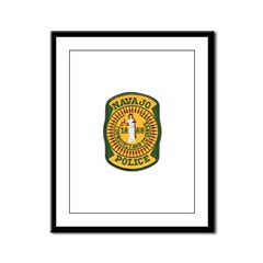 Navajo Tribal Police Framed Panel Print
