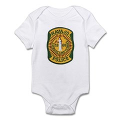 Navajo Tribal Police Infant Bodysuit