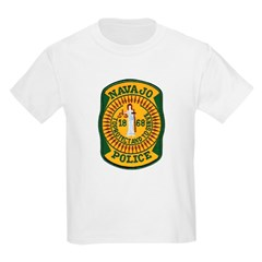 Navajo Tribal Police Kids T-Shirt