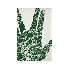 vulcan-salute2-vintage_tr Rectangle Magnet