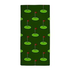 Cute Men's golf Beach Towel