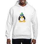 Clay Green Beanie Penguin Hooded Sweatshirt