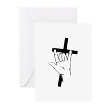 Deaf Christians Greeting Cards (Pk of 10)