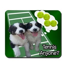 Cute Funny tennis Mousepad