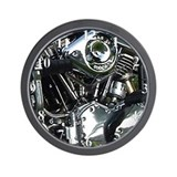 Shovelhead Wall Clock-WKS Images