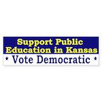Support Public Education in Kansas (sticker)