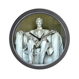 Lincoln Memorial Wall Clock