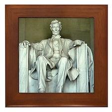 Lincoln Memorial Framed Tile