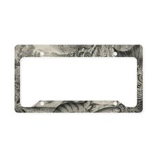 game-fish-etching-cropped License Plate Holder