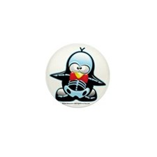 X-Ray-Penguin Mini Button