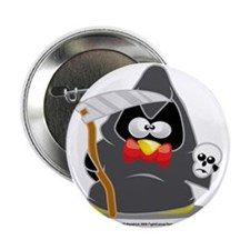 "Grim-Reaper-Penguin 2.25"" Button"
