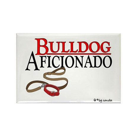 Bulldog Aficionado 2 Rectangle Magnet (10 pack)