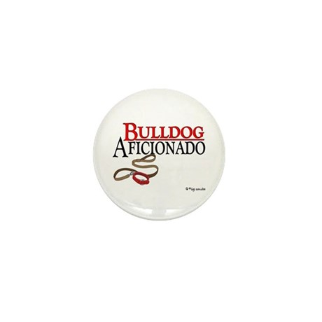 Bulldog Aficionado 2 Mini Button (100 pack)