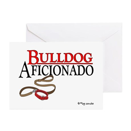 Bulldog Aficionado 2 Greeting Cards (Pk of 10)