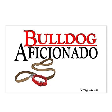 Bulldog Aficionado 2 Postcards (Package of 8)