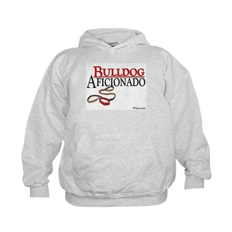 Bulldog Aficionado 2 Kids Hoodie