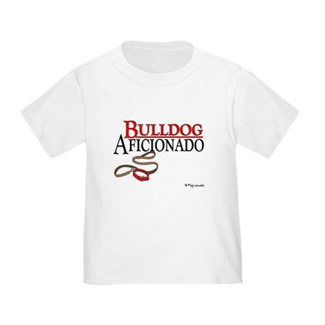 Bulldog Aficionado 2 Toddler T-Shirt