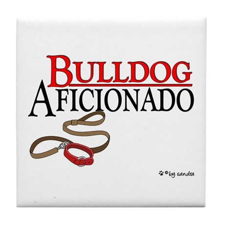 Bulldog Aficionado 2 Tile Coaster