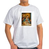 Holy Family - Nativity Ash Grey T-Shirt