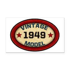 vintage-model-1949 Rectangle Car Magnet