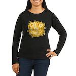 Gold Digger Women's Long Sleeve Dark T-Shirt