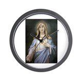 Holy Heart of Mary Wall Clock