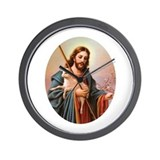 Jesus - Shepherd with Lamb Wall Clock