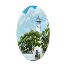 Key West Light tall 35x21 Oval Wall Decal