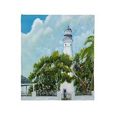 Key West Light tall Throw Blanket