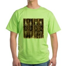 Shroud of Turin - Full Length Negati T-Shirt