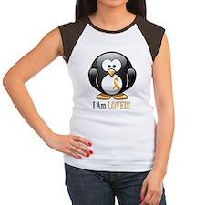 I Am Loved penguin Tee